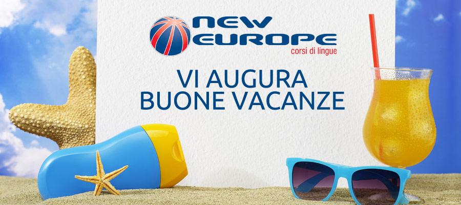 buone vacanze new europe